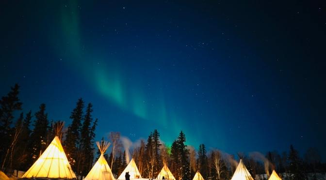 黃刀鎮 Yellowknife極光旅程:一個人妻的浪漫旅行