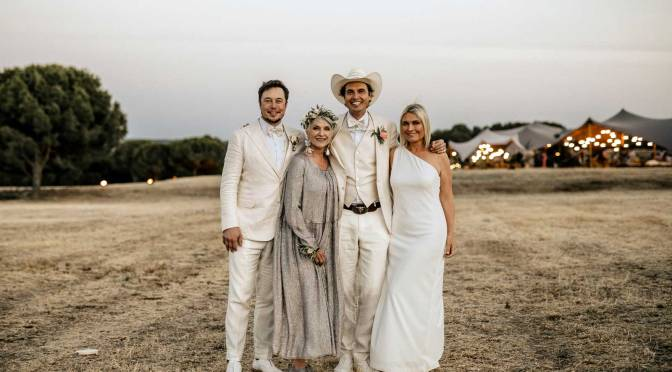 奶奶外母齊跟Elon musk 的時尚媽媽學婚禮穿搭術
