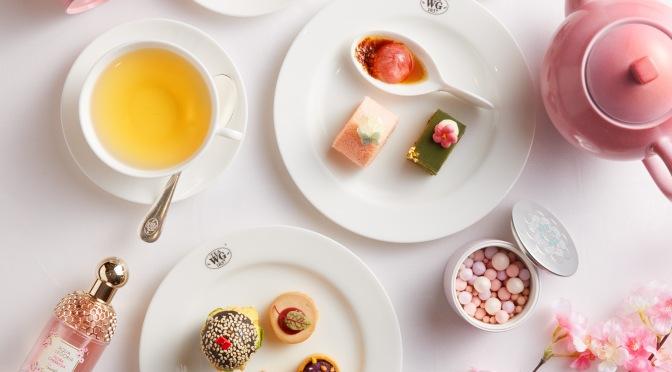 GUERLAIN X TEA WG 春粉櫻花下午茶