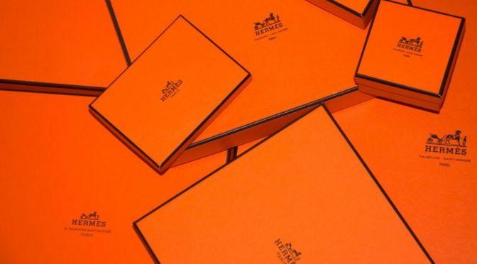 Hermès選擇橙色作包裝盒原來因為這個原因!?