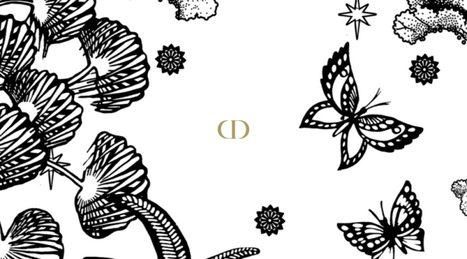 Rediscover joy of drawing with dior