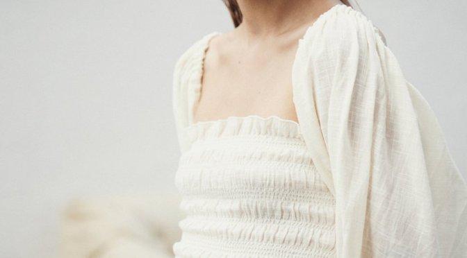 夏日婚禮簡約時尚白裙