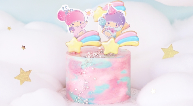 Vive Cake Boutique 聯乘 Little Twin Stars「Wishing Upon a Star」主題下午茶及蛋糕系列