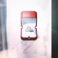 Cartier Destinée皇室氣派寶石戒指