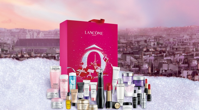Lancôme 為您帶來由法國巴黎而至的粉紅聖誕