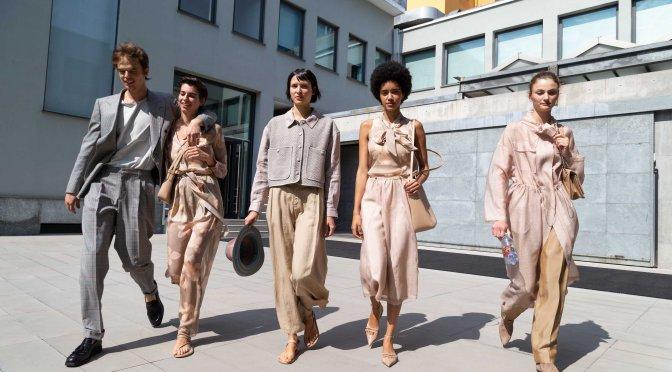 Emporio Armani SS21 春夏男女裝系列構建對話
