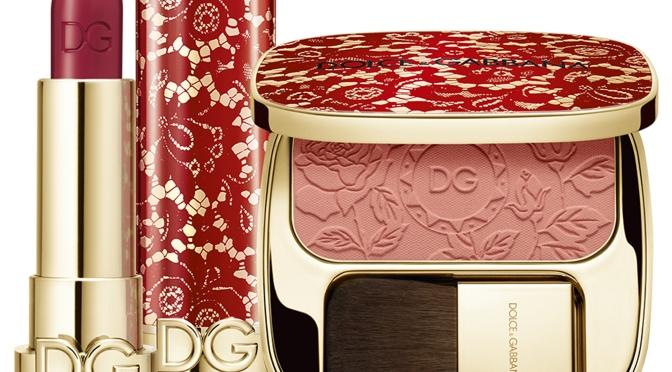 【二月新品】Dolce&Gabbana Beauty 限定瑰麗喱士系列及全新水潤炫彩唇釉Shinissimo