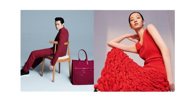 Giorgio Armani 全球代言人胡歌和模特項偞婧傾情演繹2021農曆新年系列