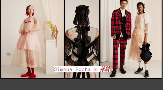 Simone Rocha x H&M設計師聯乘系列 完整造型目錄全公開3月11日開售