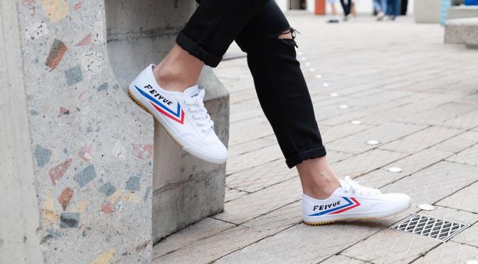 ⼀對家中不可或缺的⼩⽩鞋 -「大孚」小白鞋