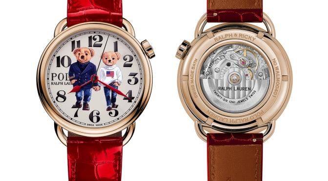 Ralph & Ricky Bear 腕錶鰜鰈情深