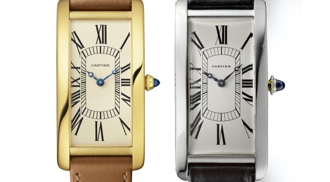 卡地亞 CARTIER Tank Cintrée腕錶誕生一百週年限量腕錶