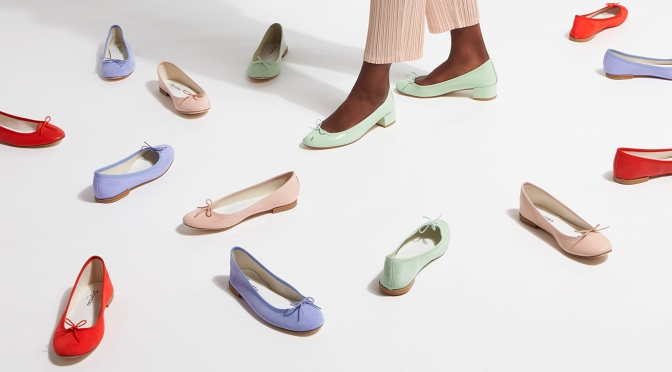 REPETTO 2021春夏 「LIGHTER THAN THE AIR」淡雅粉系芭蕾