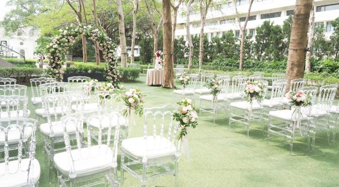Mon Trésor 春天粉色系花園婚禮佈置