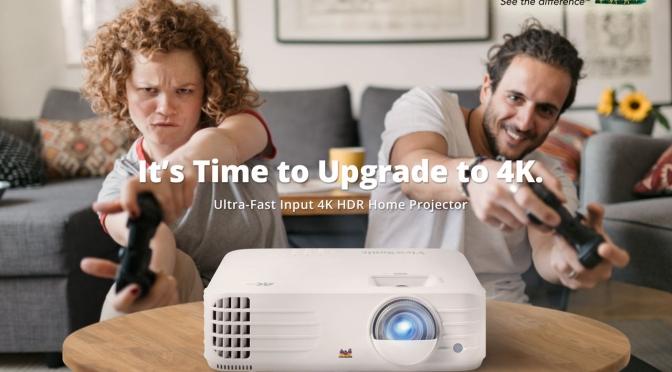 【新居必入】ViewSonic 全新家用4K投影機 PX701-4K 4K低延遲電玩娛樂投影機