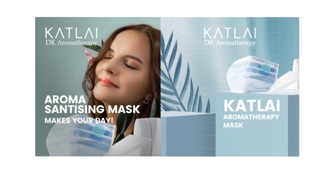 Kat Lai DK Aromatherapy 「抗疫香薰囗罩貼」舒緩壓力