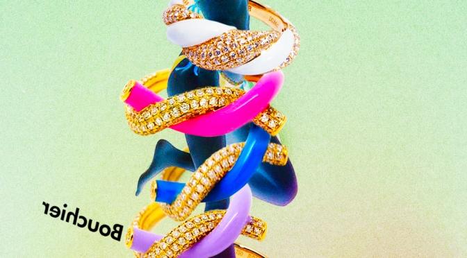 BOUCHIER 揉合鑽石和街頭時尚風格糖果色系珠寶