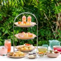 Tea-cation 沙田凱悅聯乘Loveramics【香荔花語下午茶•本地遊】房價 HK$900* 起