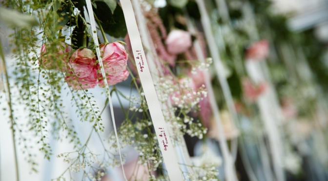 agnès b. FLEURISTE浪漫婚禮 紀錄幸福限時送上花品折扣優惠