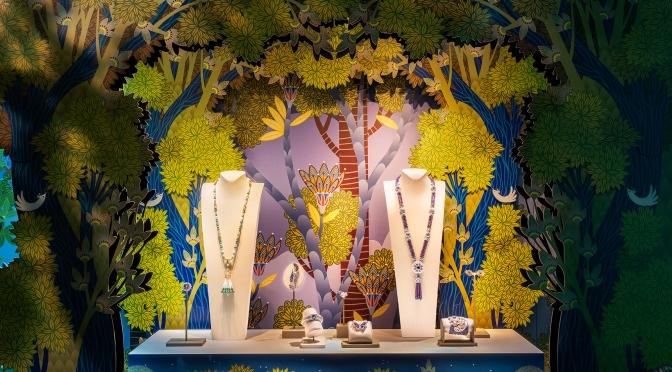Van Cleef & Arpels梵克雅寶與法國插畫藝術家 Charlotte Gastaut 攜手合作勾勒詩意與想像的Enchanting Garden