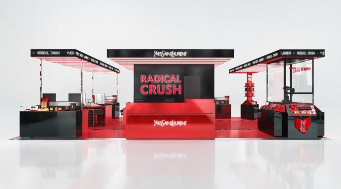 【年度美妝盛事】 YSL BEAUTÉ RADICAL CRUSH 海港城期間限定店 美妝與科技結合的顛峰新境界 (9月30 – 10月10日) 換領豐富禮品
